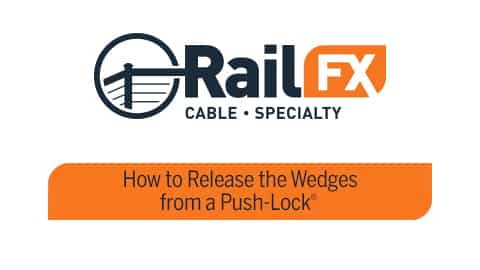 How to Release the Wedges from a Push-Lock